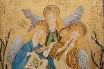 Les Trois Anges Musiciens(Détail)