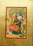 Amoureux (Miniature persane)