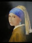 Le Jeune Fille à la Perle d'aprèsVermeer