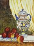 Céramique et pommes