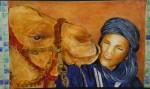 Jeune Homme Touareg et sonDromadaire